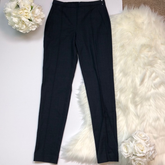 Elie Tahari Pants Karis Pant In Black Navy 0 H3 Poshmark